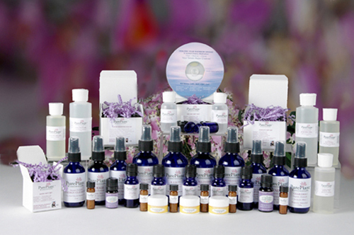photo of the PurePlant Essentials Organic Essential Oils product line